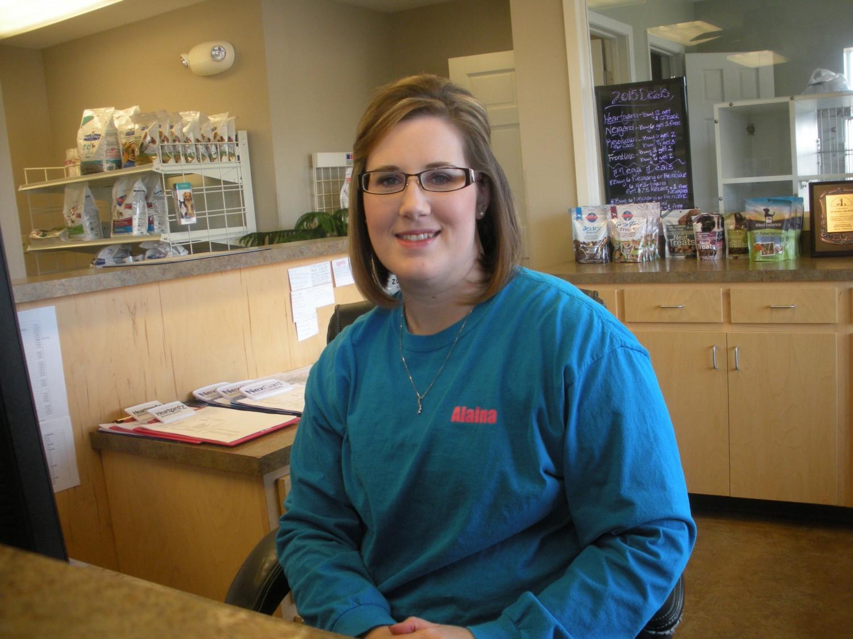 Ozark Animal Medical Center - Heber Springs, AR - Receptionist and wife of Dr. Bradley Self- Alaina Self